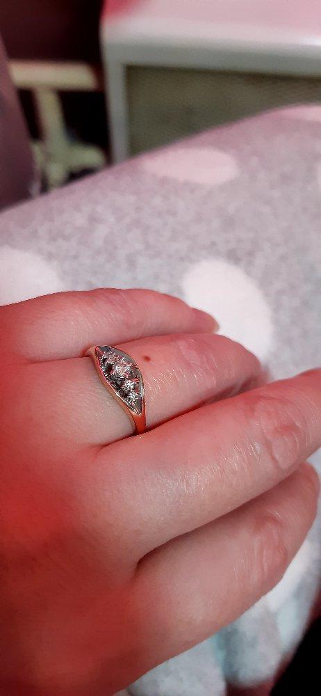 Красивое необычное кольцо.
