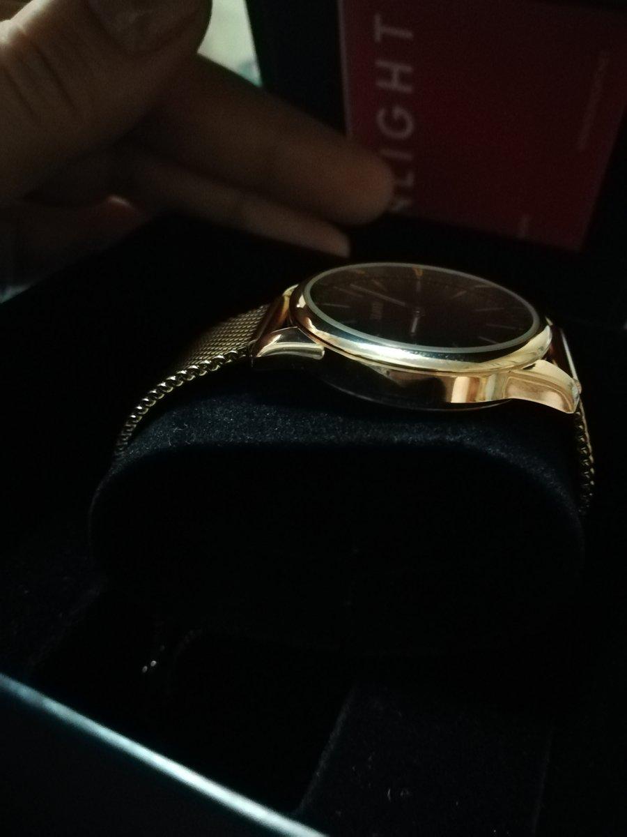 Часики под кольцо с раухтопазом.