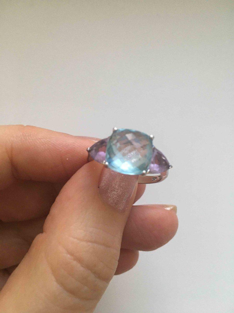 Красивое нежное кольцо