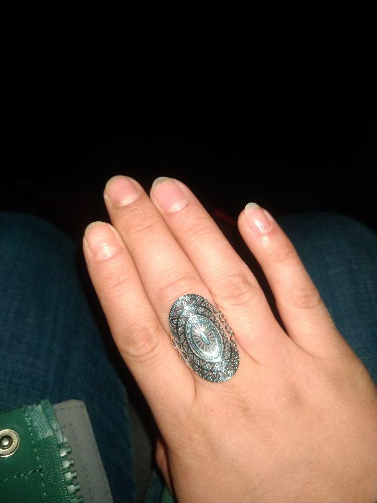 Очень лёгкое кольцо