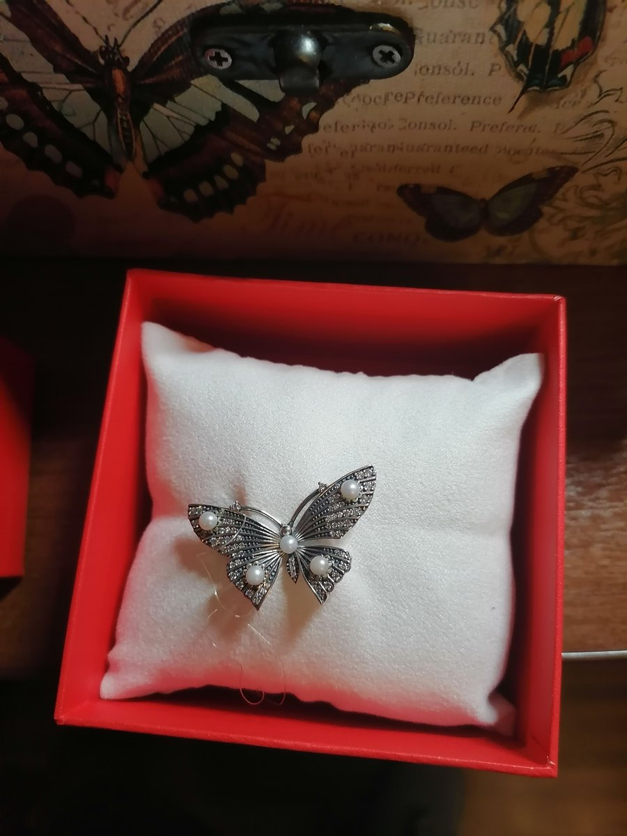 Миниатюрная прекрасная бабочка.
