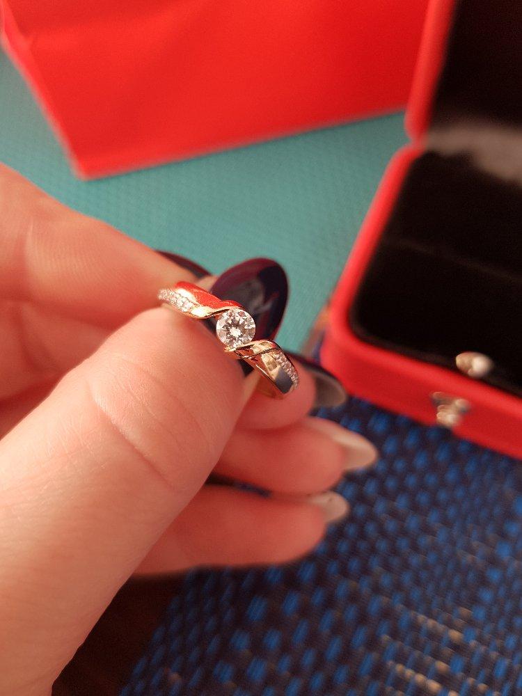 Красивое кольцо на день рождения 😍