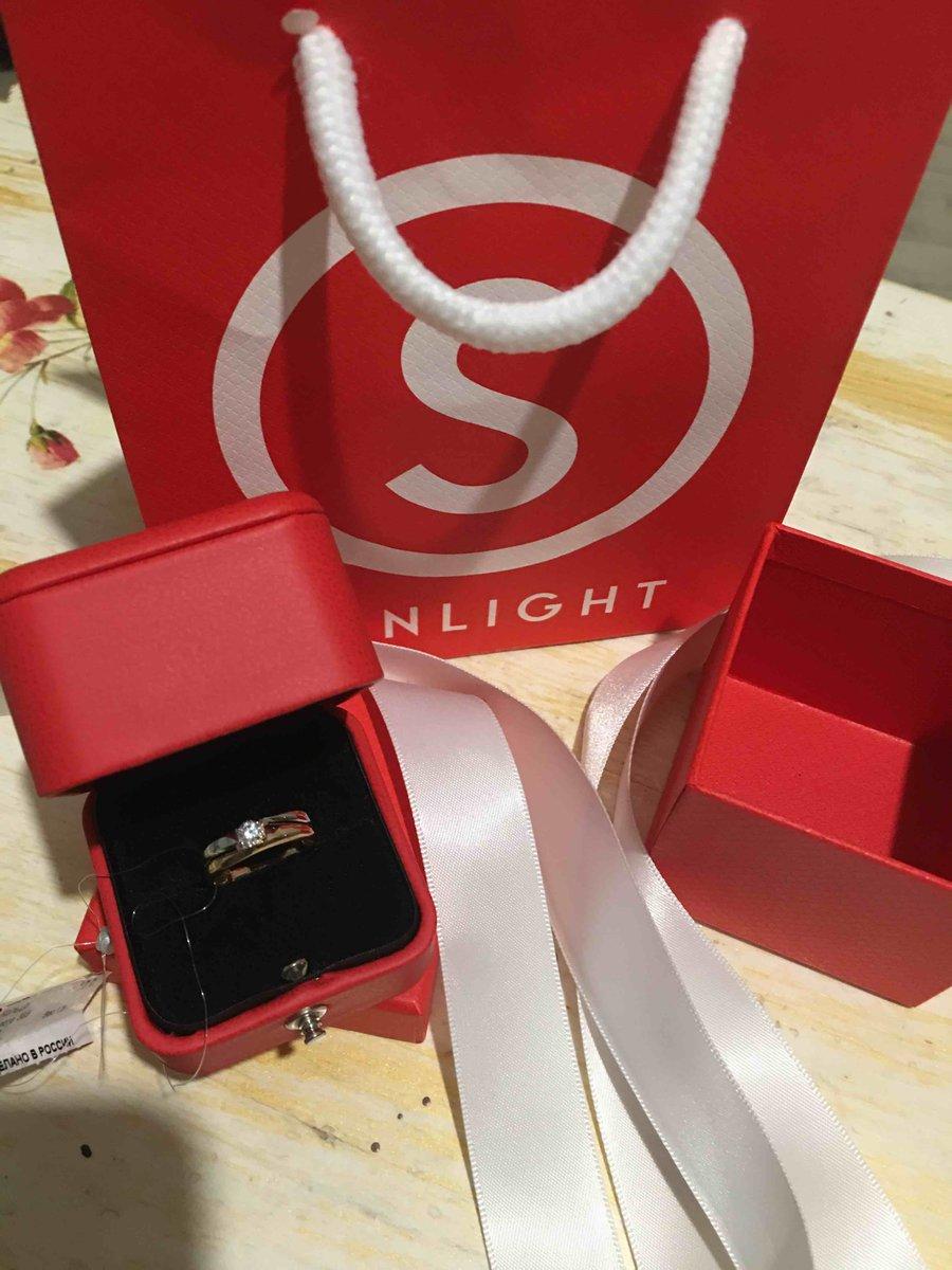 Красивое кольцо для дочери!