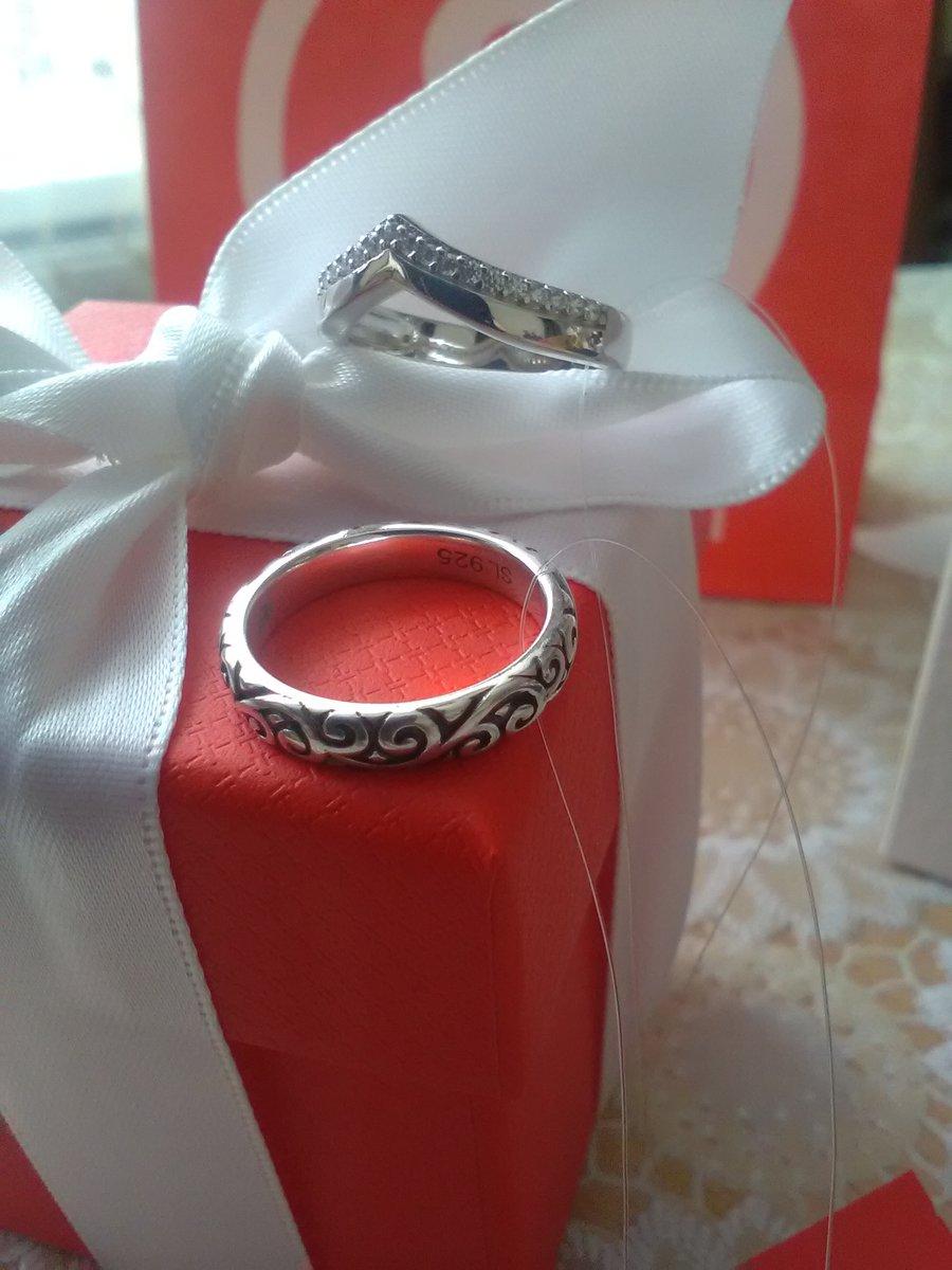 Серебряное кольцо с чернью