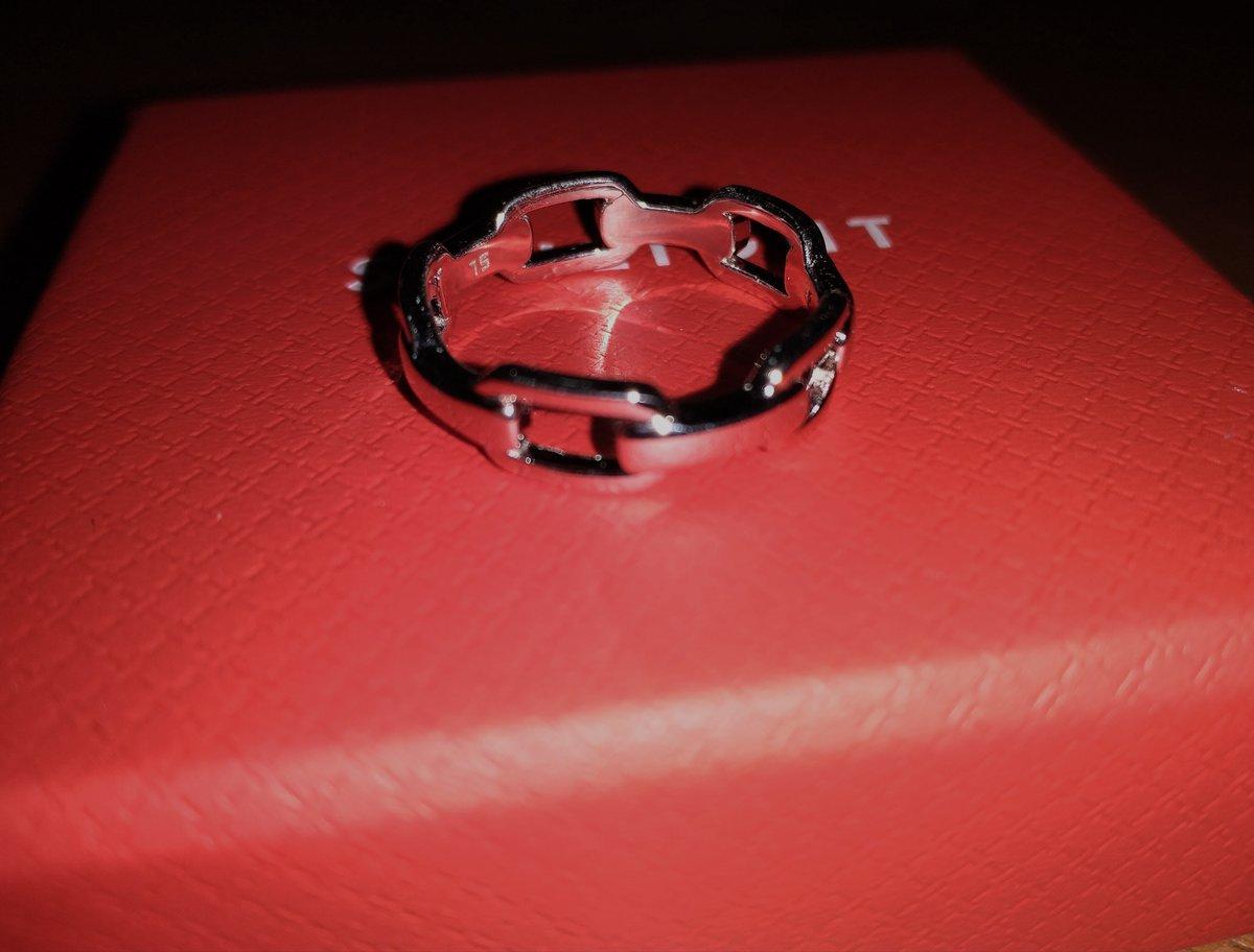 Кольцо-цепочные звенья