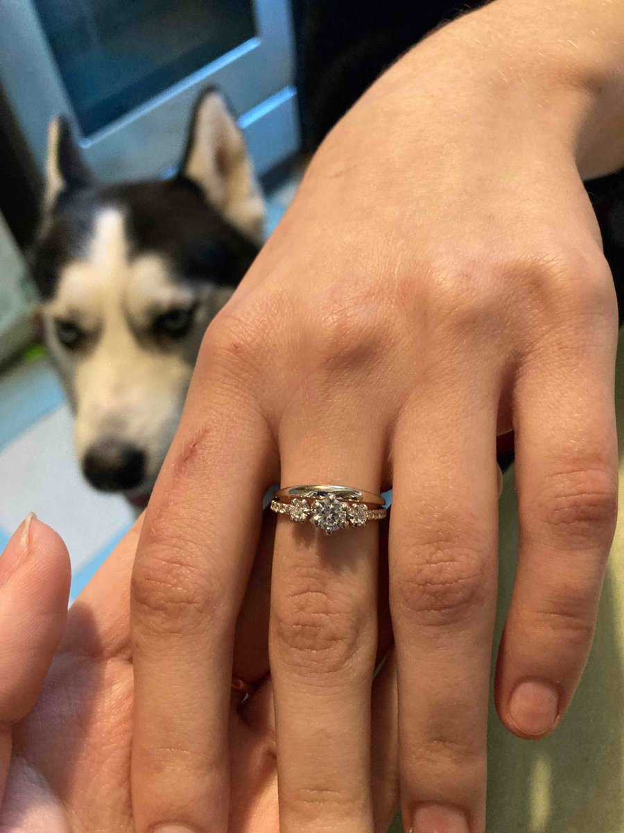 Покупали кольцо