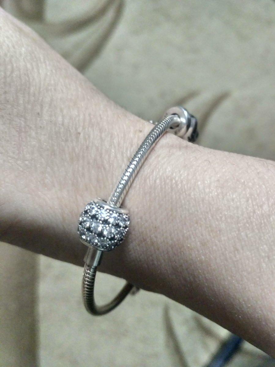 Серебряная подвеска шарм