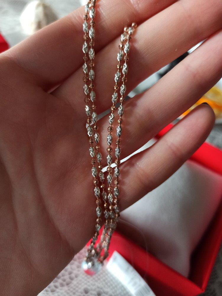 Цепочка из серебра, красивая, оригинальная.........