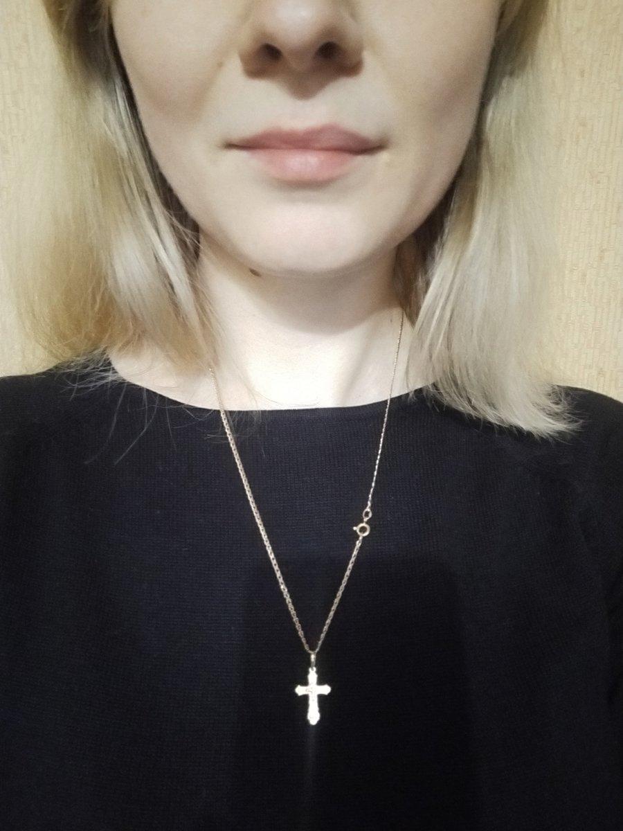 Цепочка под крестик