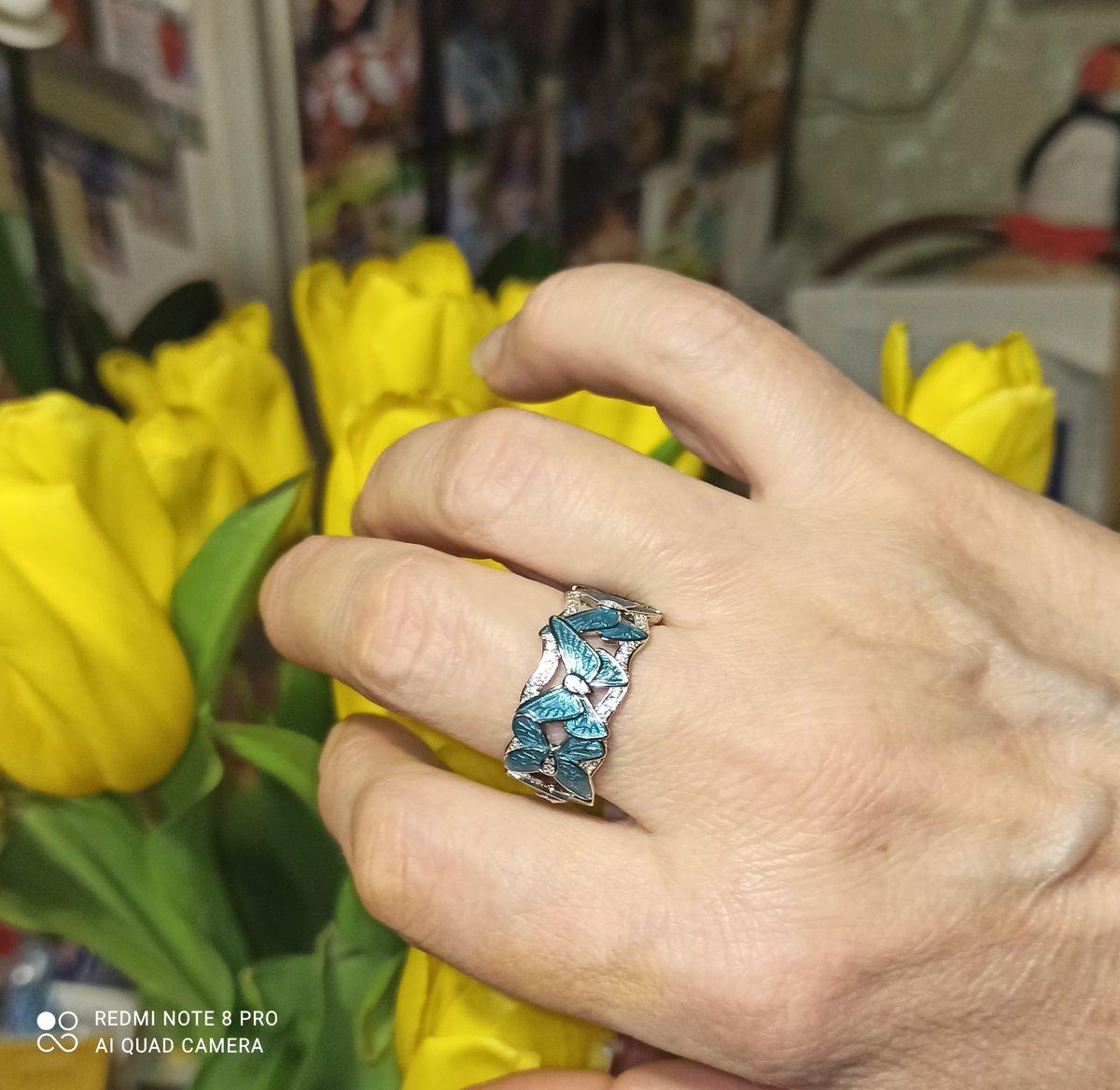 Прекрасное летнее кольцо!