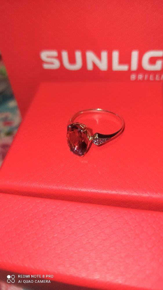 Необыкновенное кольцо с аметрином!