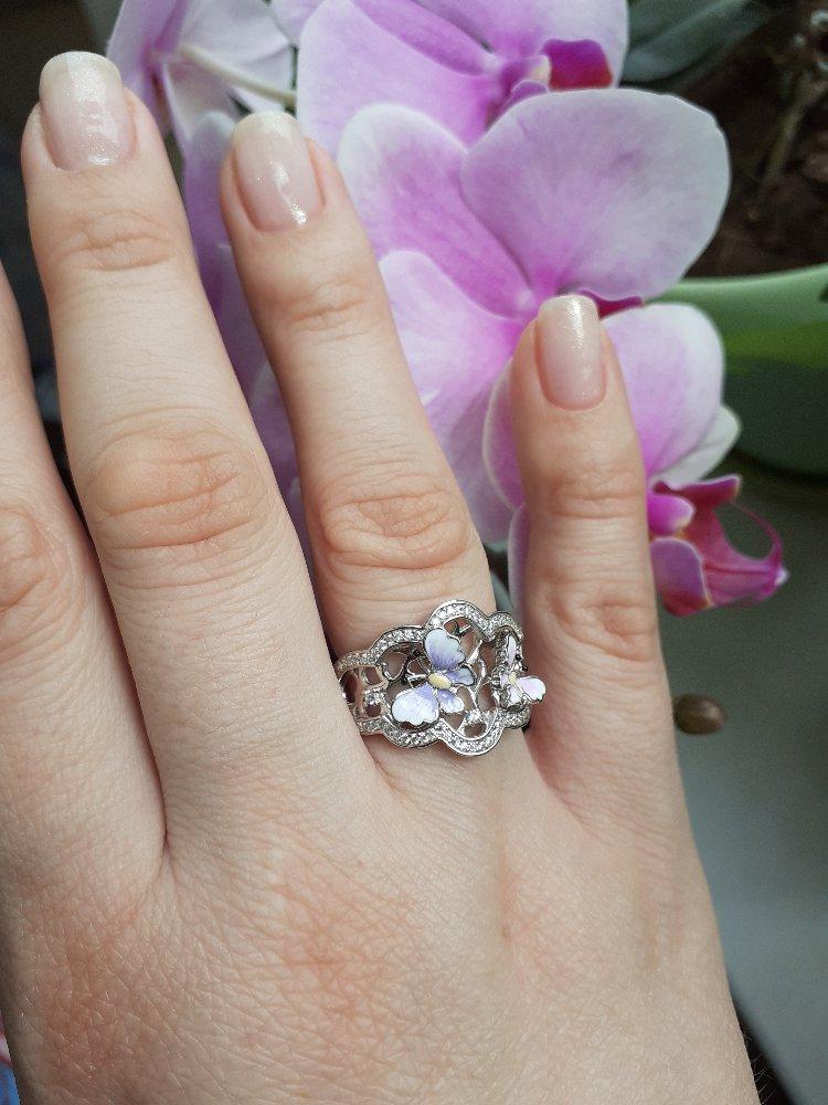 Весеннее,лёгкое,нежное кольцо!!!