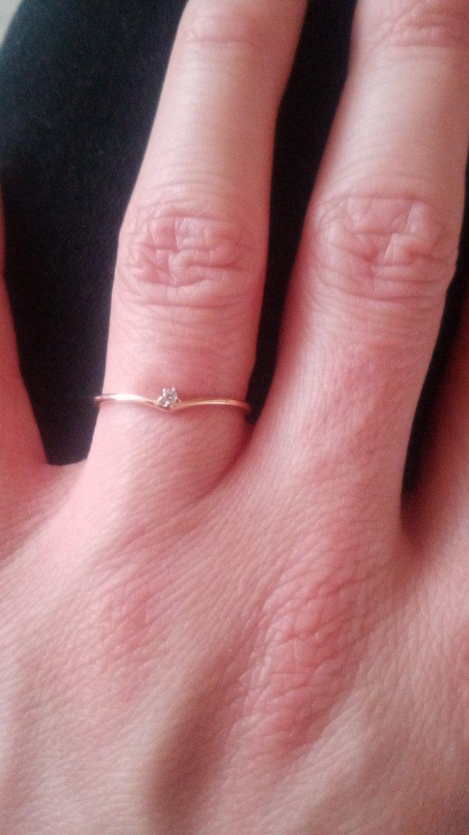Покупка кольца в магазине