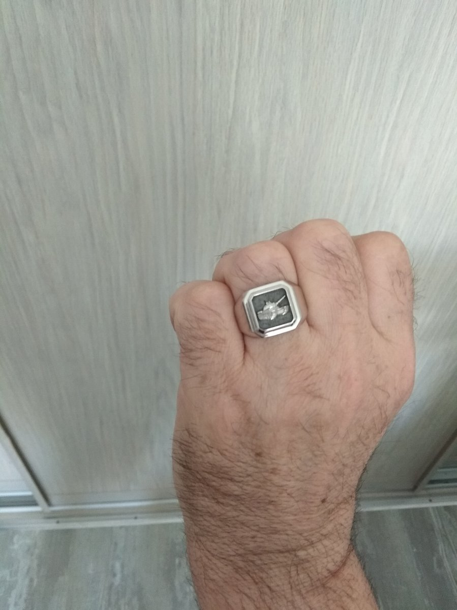 Кольцо танкисту