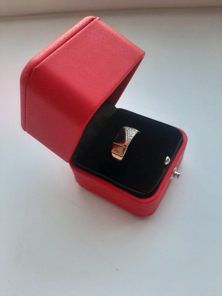 Приобрела золотое кольцо