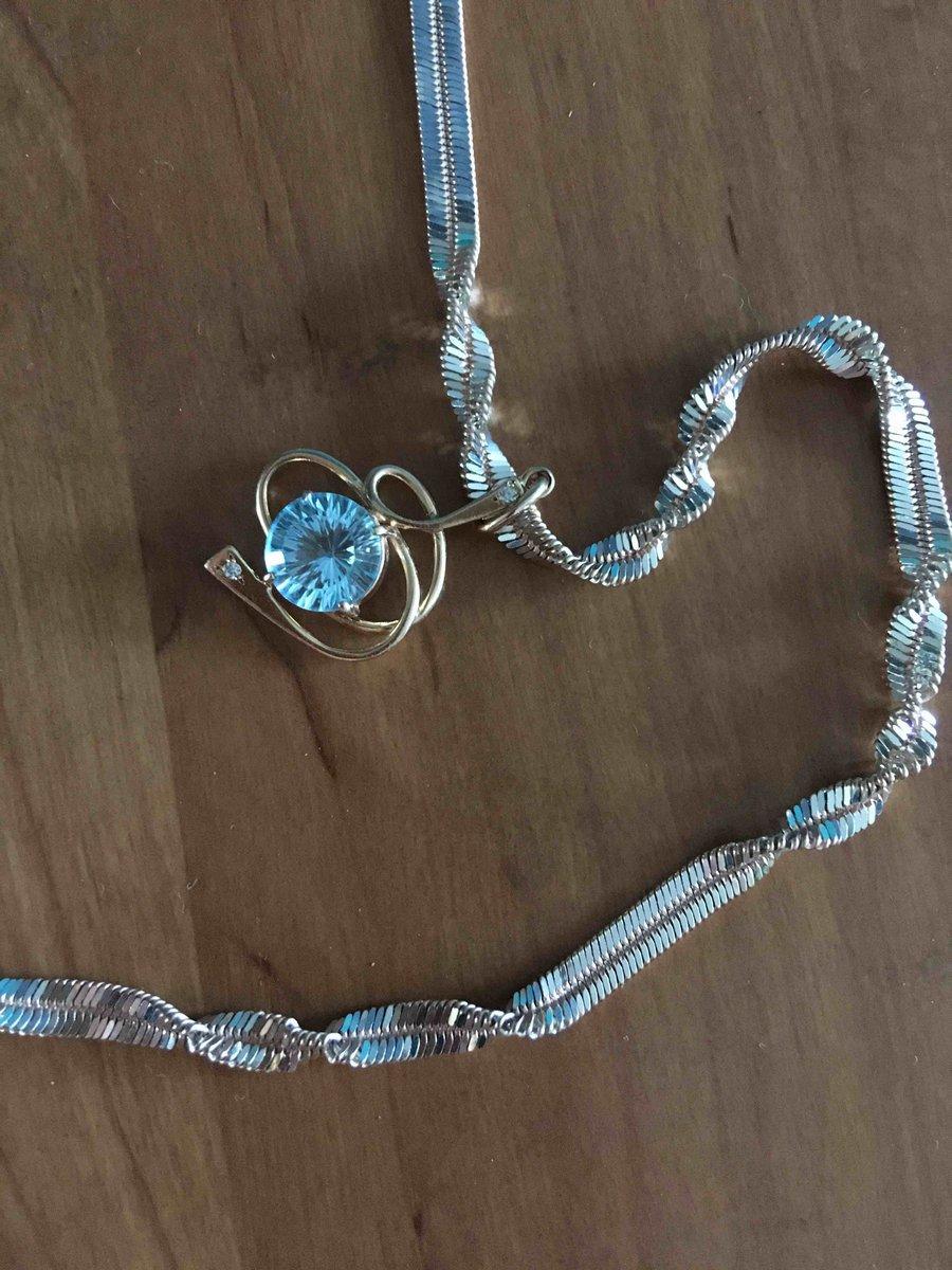 Цепь двухцветная,60 сантиметров,из серебра и серебра с позолотой.
