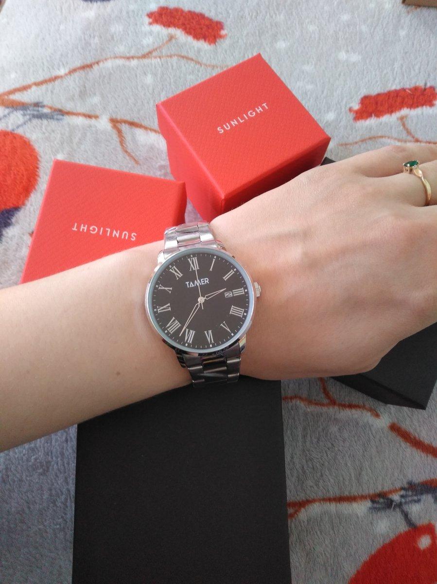 Часы в подарок мужу.