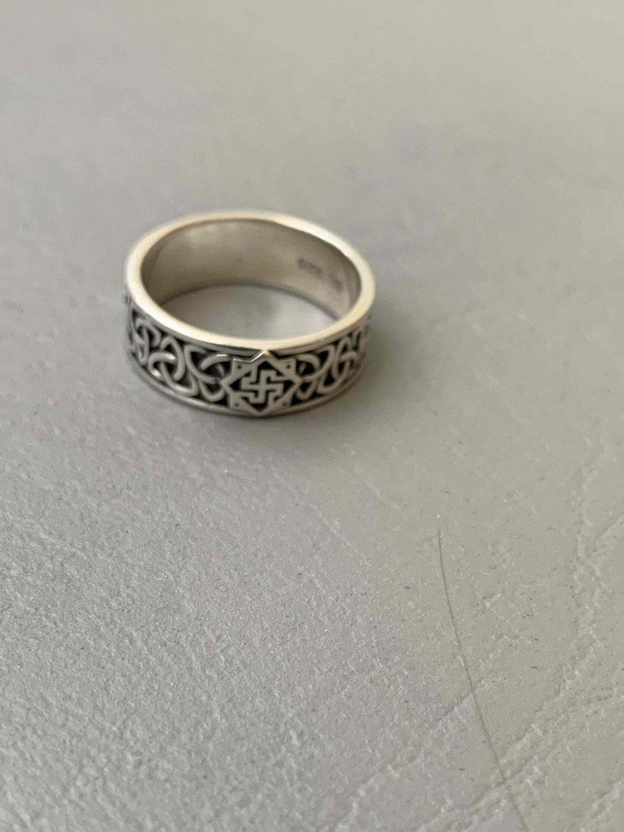 Серебряное кольцо валькирия