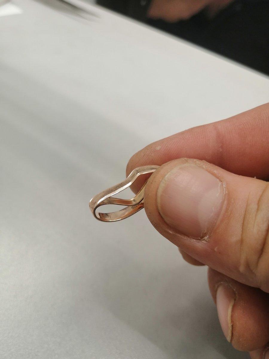 Кольцо пустотелое.