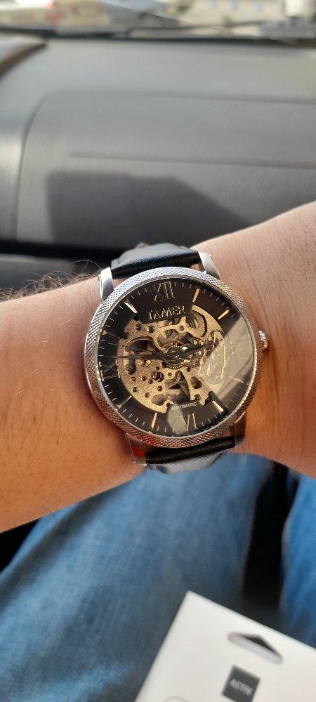 Я доволен спонтанной покупкой часов