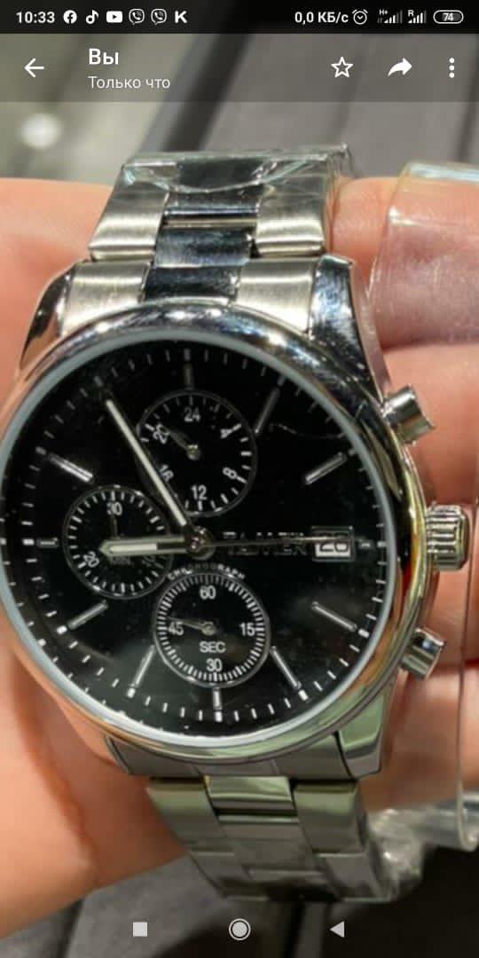 Очень красивые часы, не сильно тяжелые, смотряться достойно😻