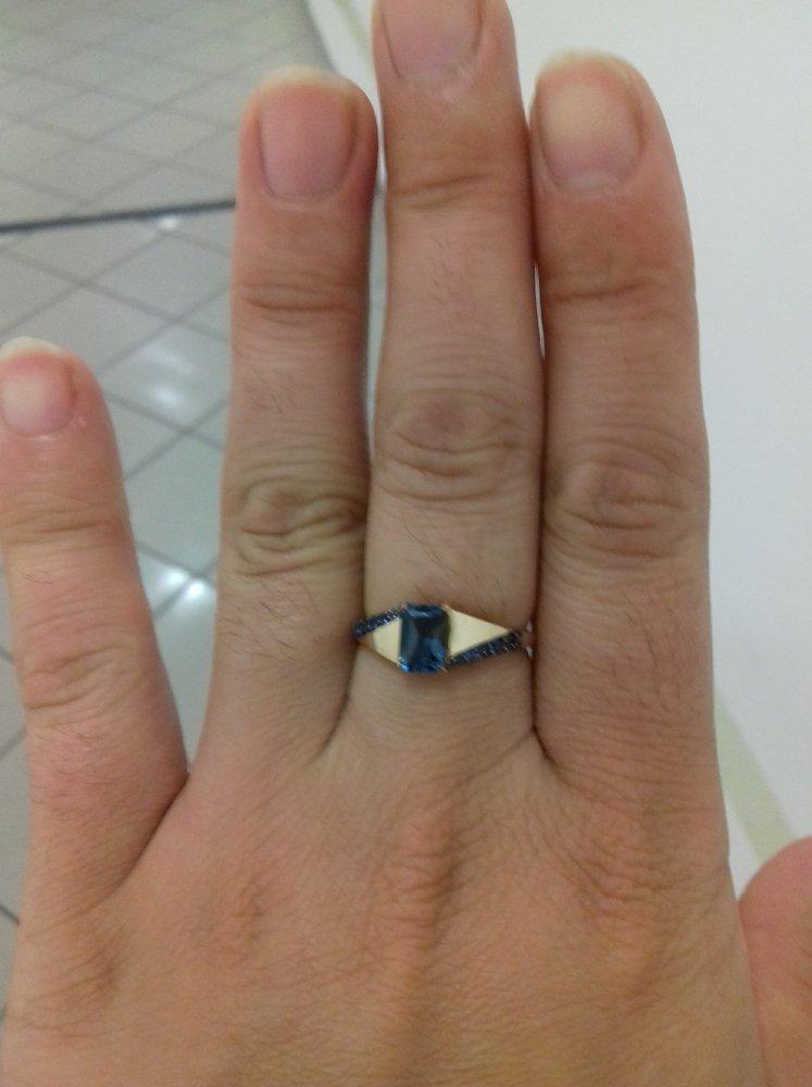 Я очень рада, мне понравилось, я давно хотела такой невероятной кольцо