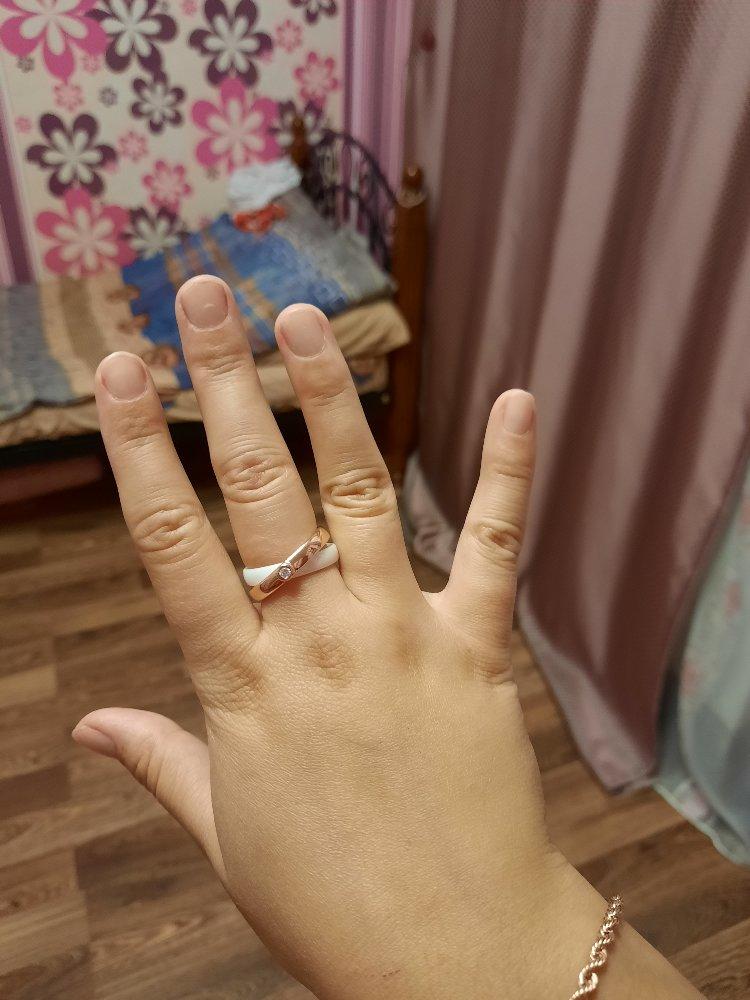 Милое, нежное кольцо.