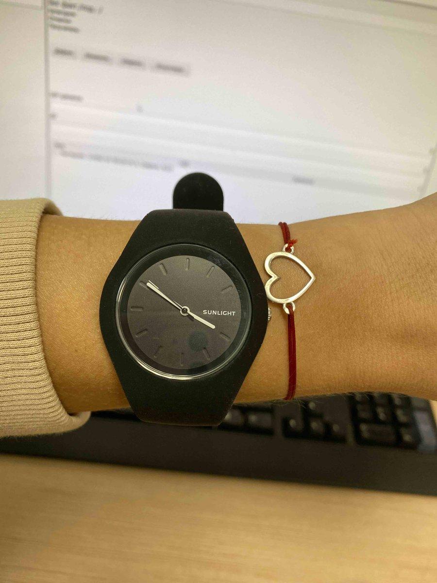 Часы Санлайт на силиконовом ремешке