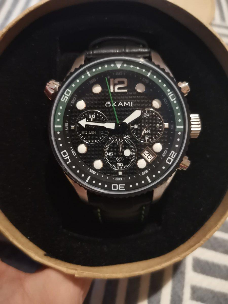 Часы наручные Okami.
