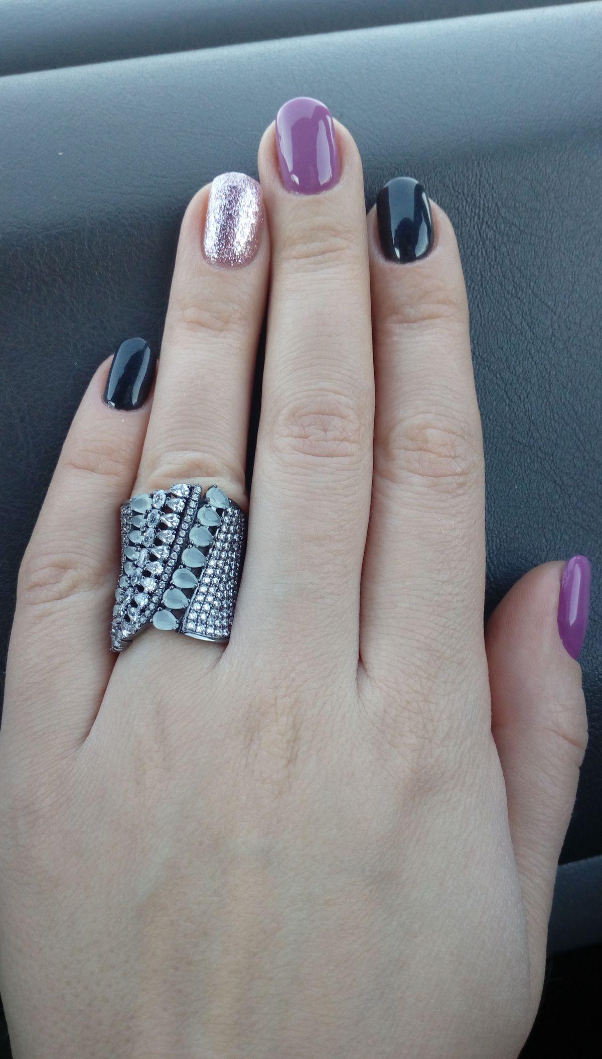 Кольцо с алпатитом