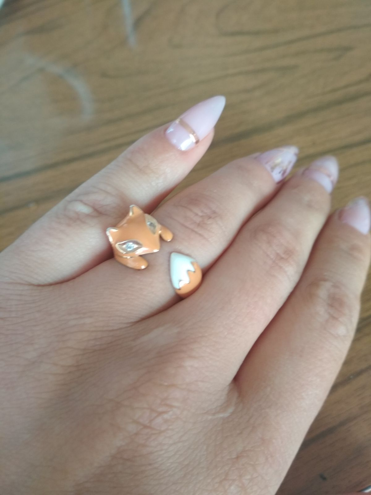 Кольцо-лисичка