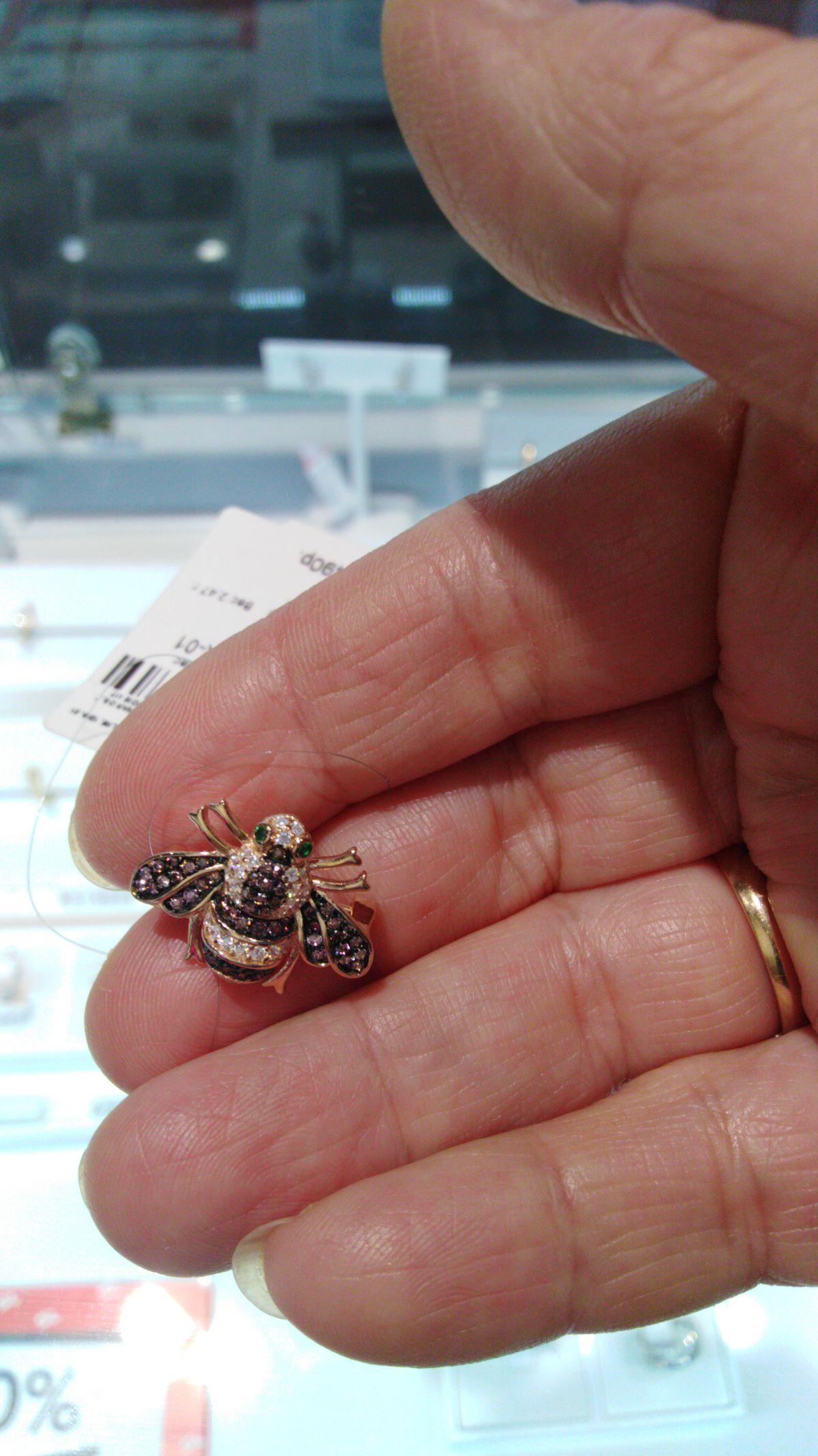 Миниатюрная пчёлка