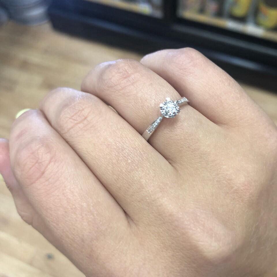 Идеальный вариант для помолвки