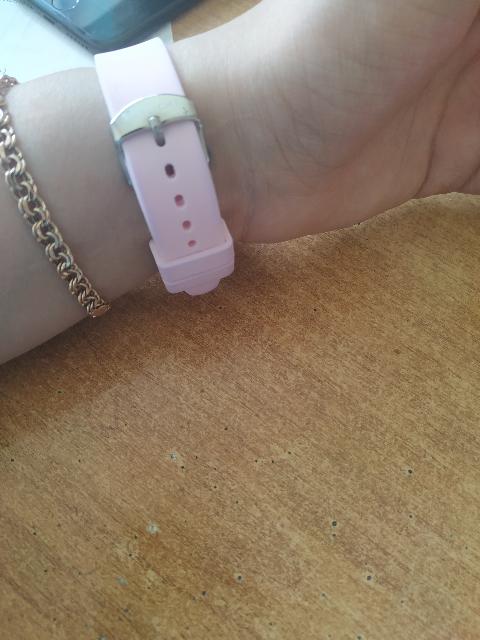 Часики розовые