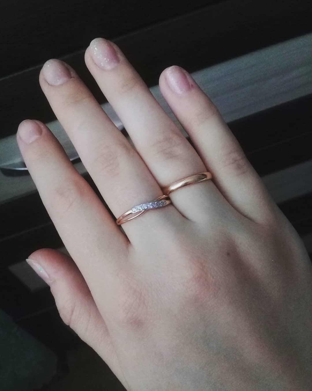 Очень нежное,изысканное кольцо 😊
