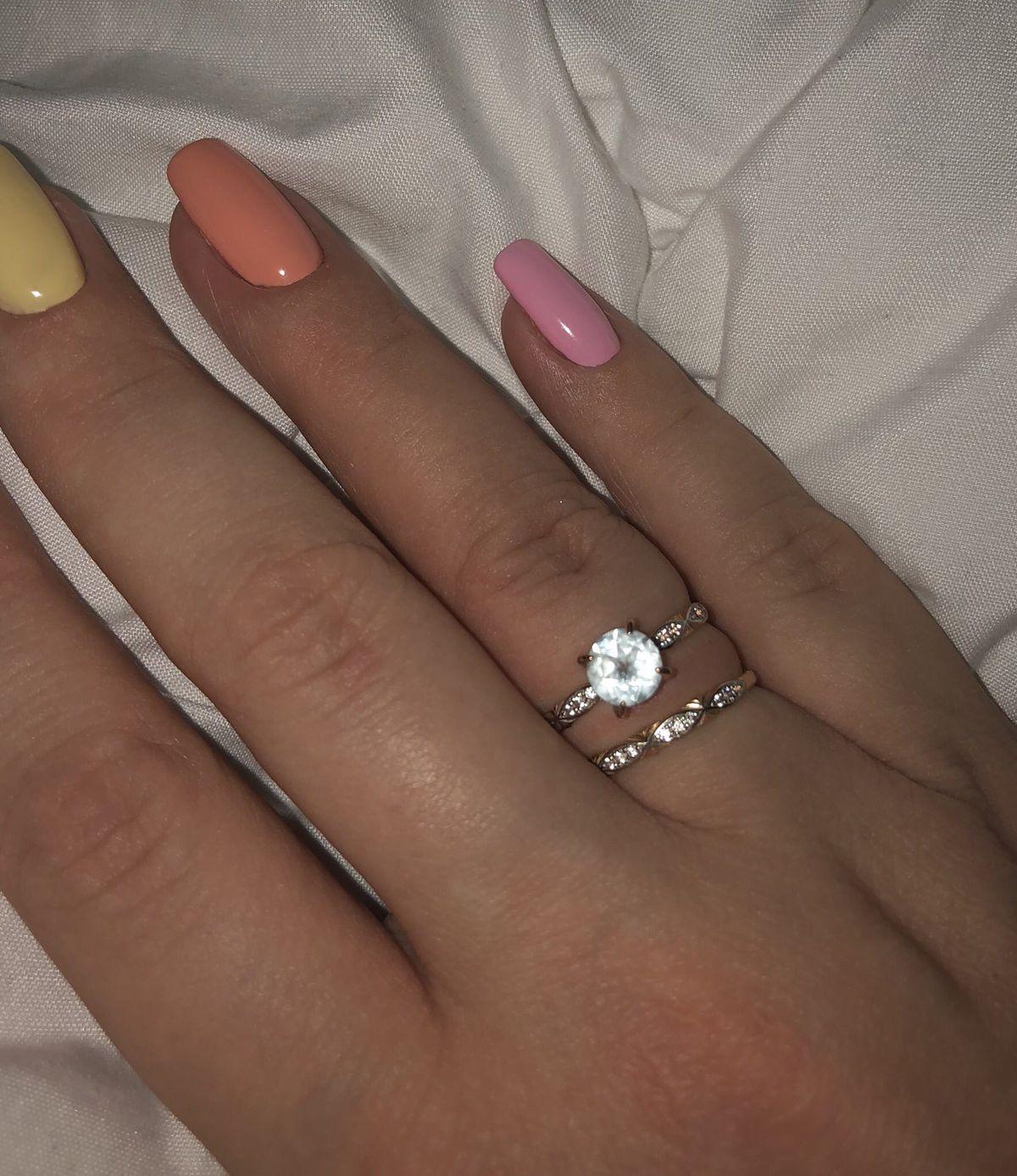 Безумно красивое кольцо)