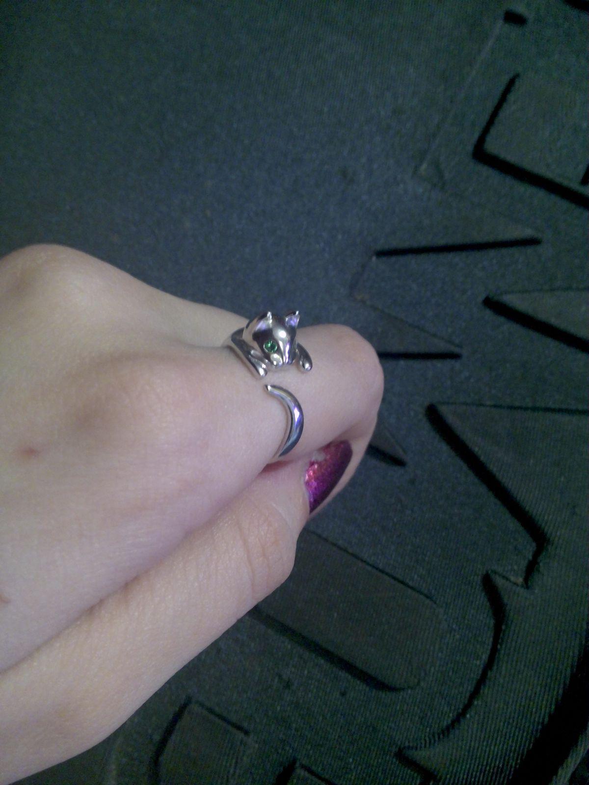 Кольцо-кошечка
