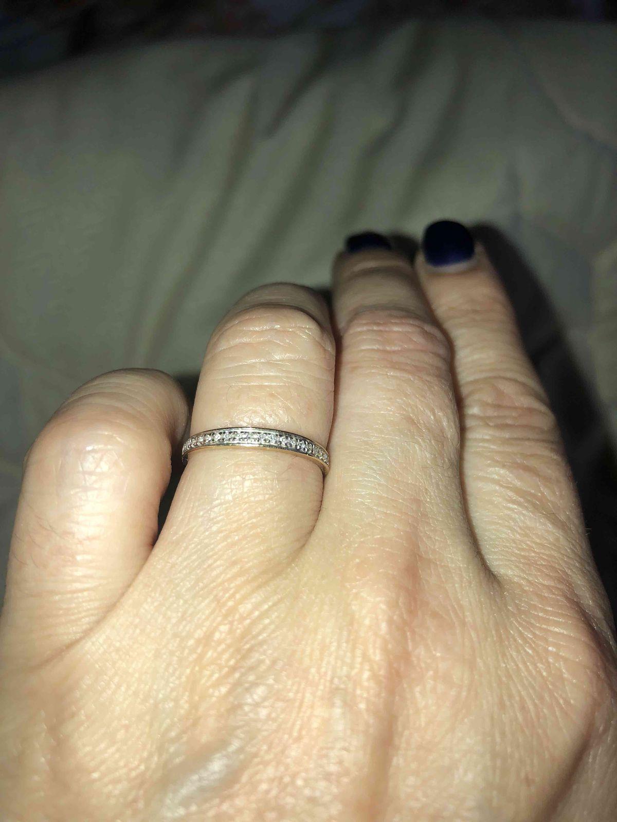 Кольцо с брилльянтами