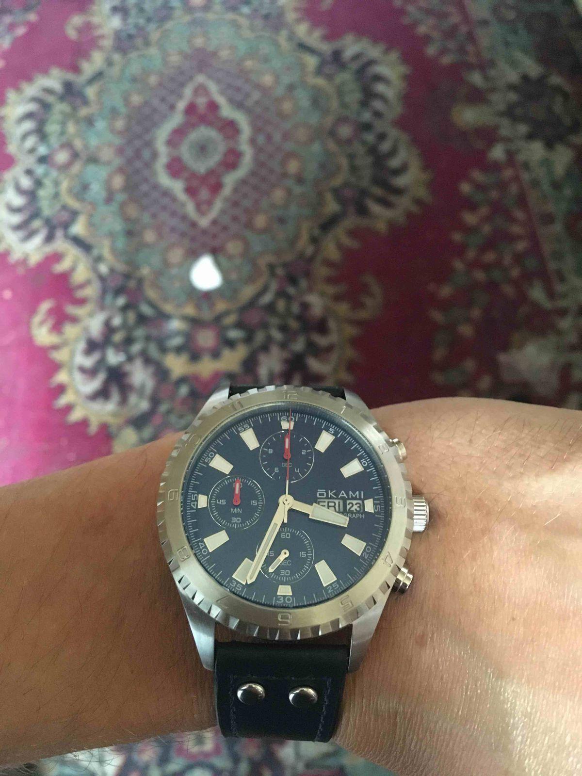 Clock на моей руке