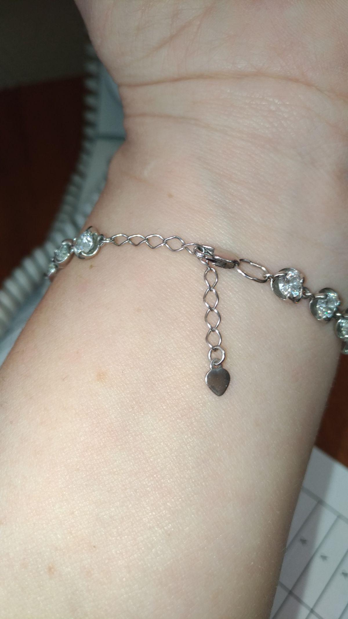 Отличный серебряный браслет