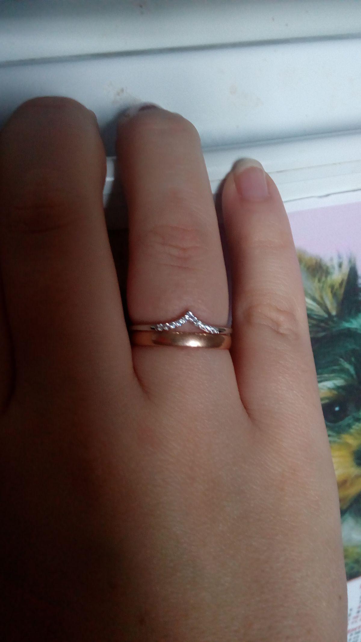 Давно такое кольцо искала.