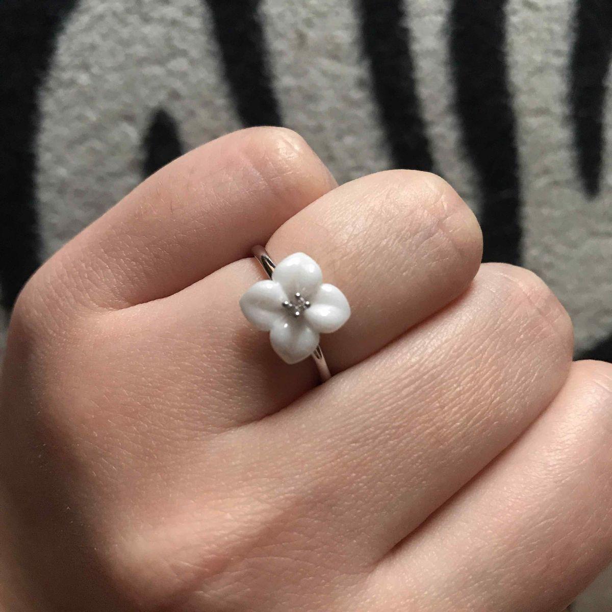 🌸 кольцо-цветок 🌸