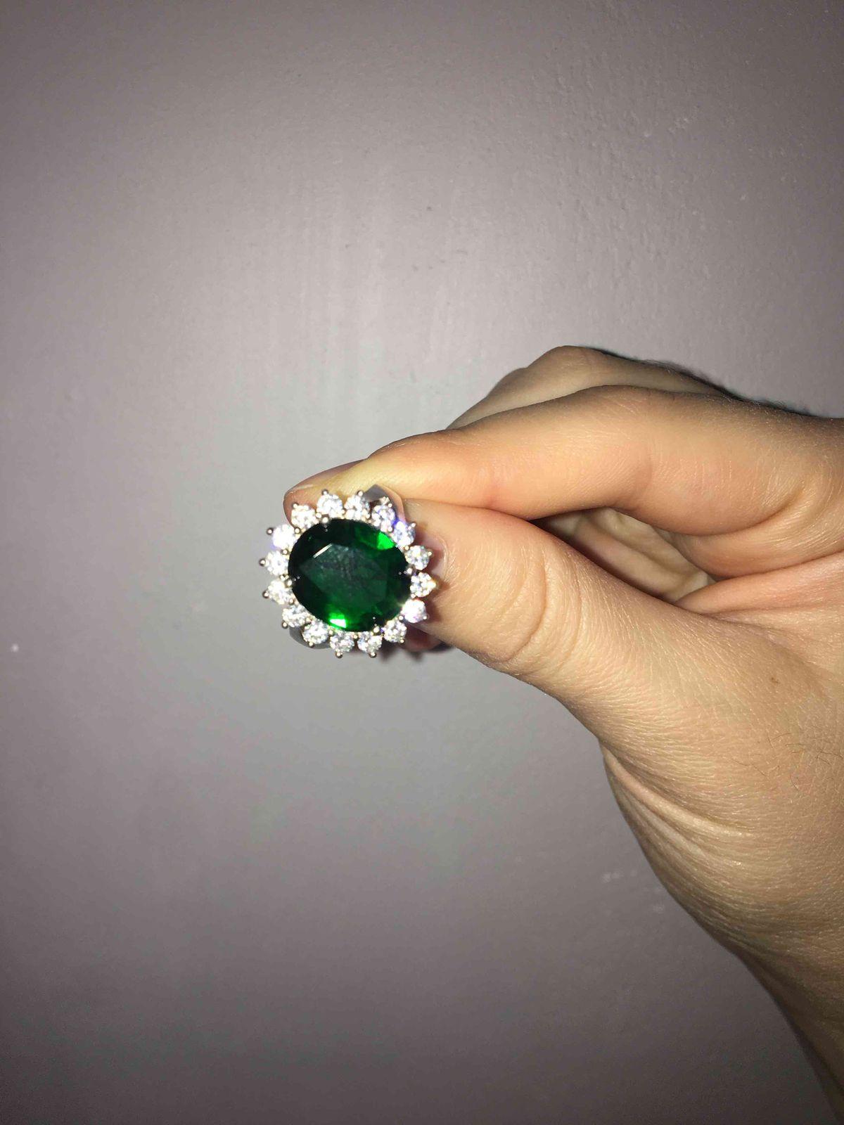 Кольцо из серебра с фианитами😍