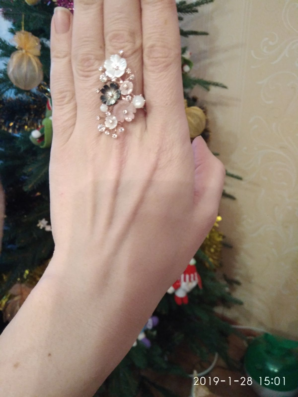 Волшебное и нежное кольцо!