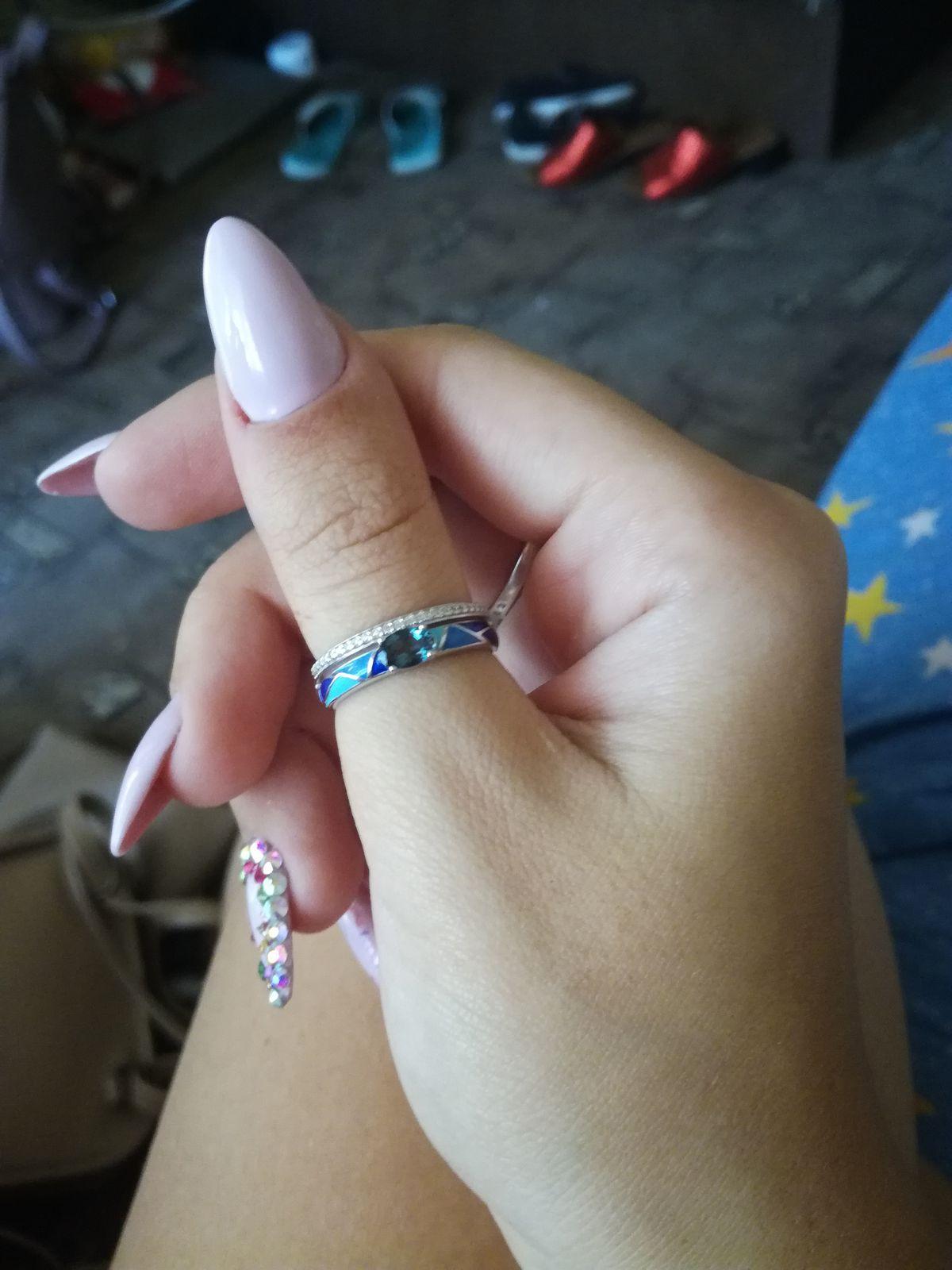 Я влюбилась в это кольцо с первого взгляда!😍