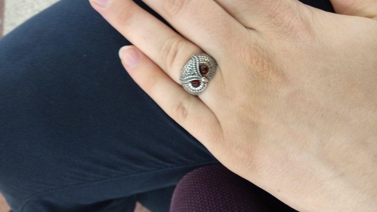 Необычное кольцо хорошего качества