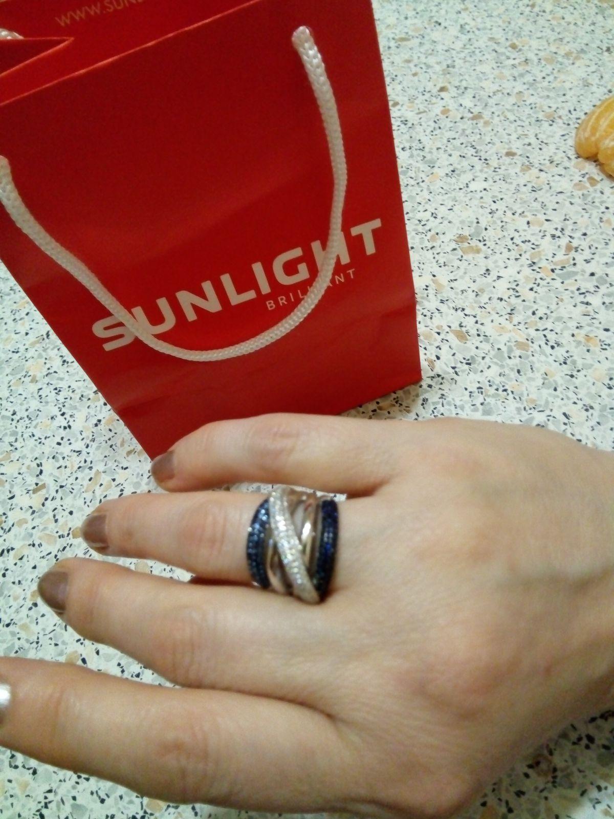 Прекрасный выбор серебра в Sunlight  РИО.Довольна посещением и покупкой.