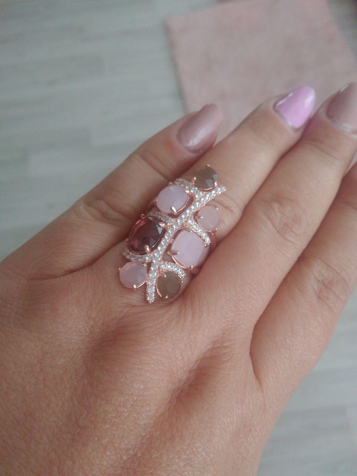 Кольцо серебряное с алпанитами