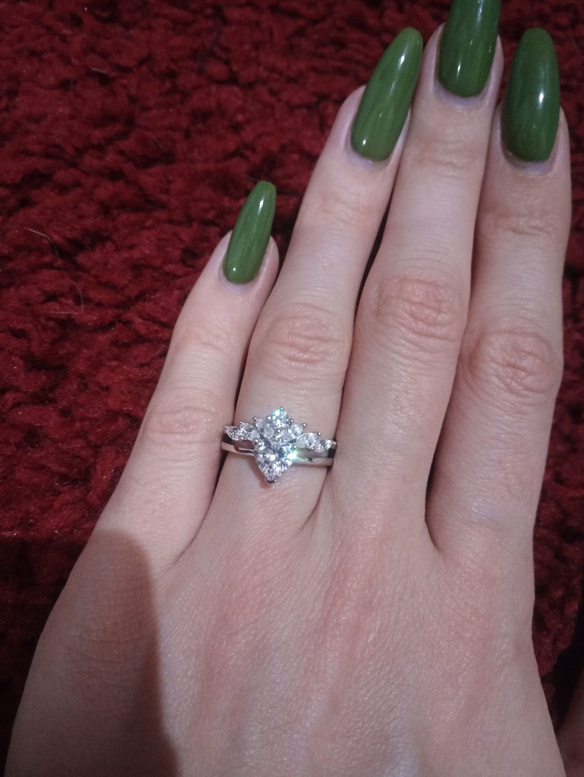 Кольцо, в которое я влюбилась с первого взгляда и сразу же купила, сереброS
