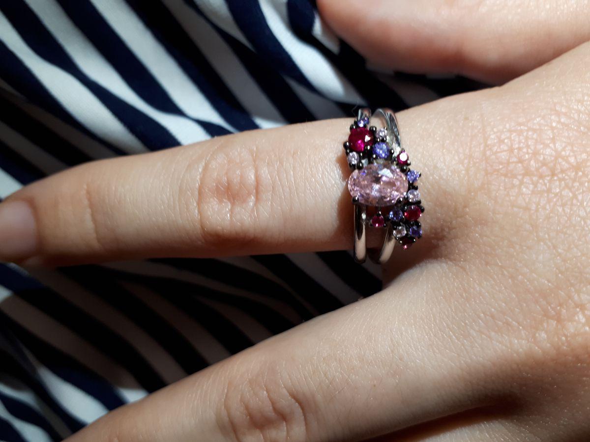 Кольцо-розовая мечта.